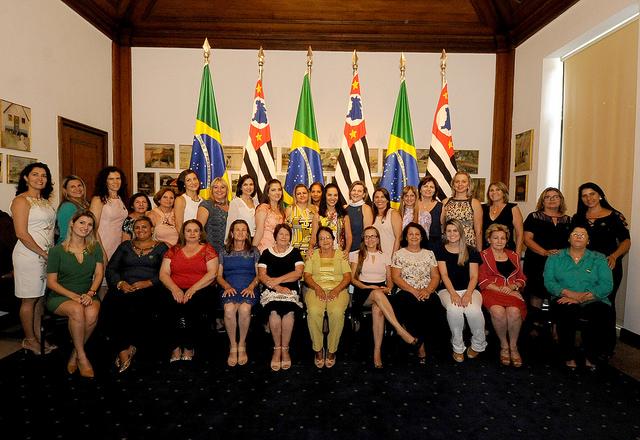 Reunião de trabalho com Dona Lú Alckmin Primeira Dama do Estado.
