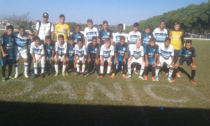 Irapuã x Grêmio de Porto Alegre