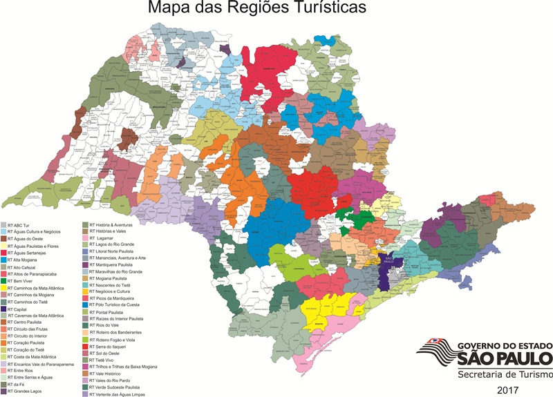 IRAPUA NO MAPA TURISTICO BRASILEIRO
