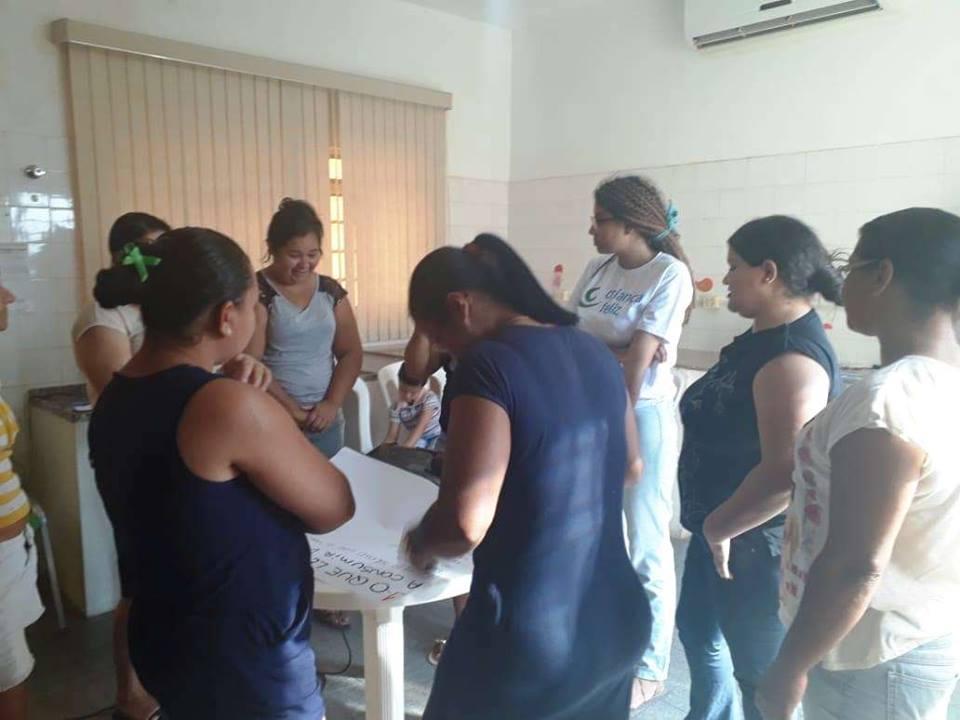 Cras Irapuã iniciou no mês de Junho e em Agosto está dando continuidade na Campanha de Prevenção às Drogas.