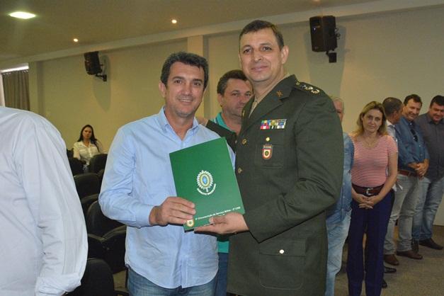 Posse dos Presidentes das Juntas de Serviço Militar da 7ª Delegacia de Serviço Militar de Catanduva