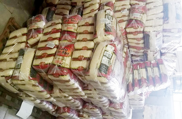 Irapuã recebe 12.082,72 quilos de alimentos para merenda