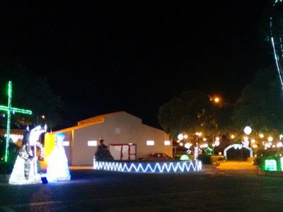 Iluminação Natalina já brilha em Irapuã