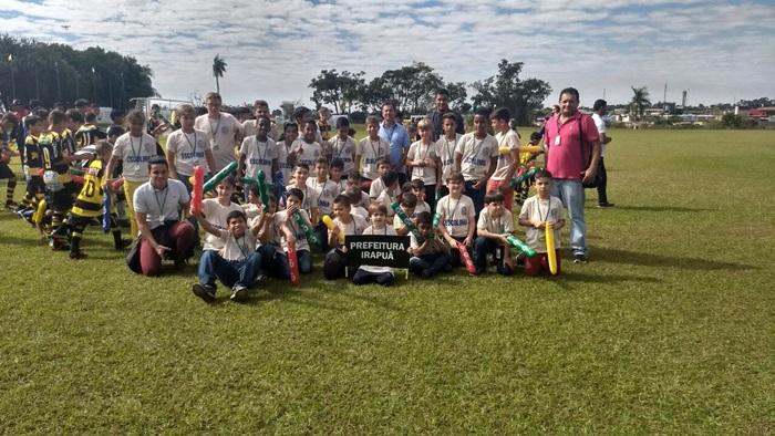 Escolinha de Futebol de Irapuã conquista 4º lugar no DANI CUP - Torneio Internacional de Futebol Infantil