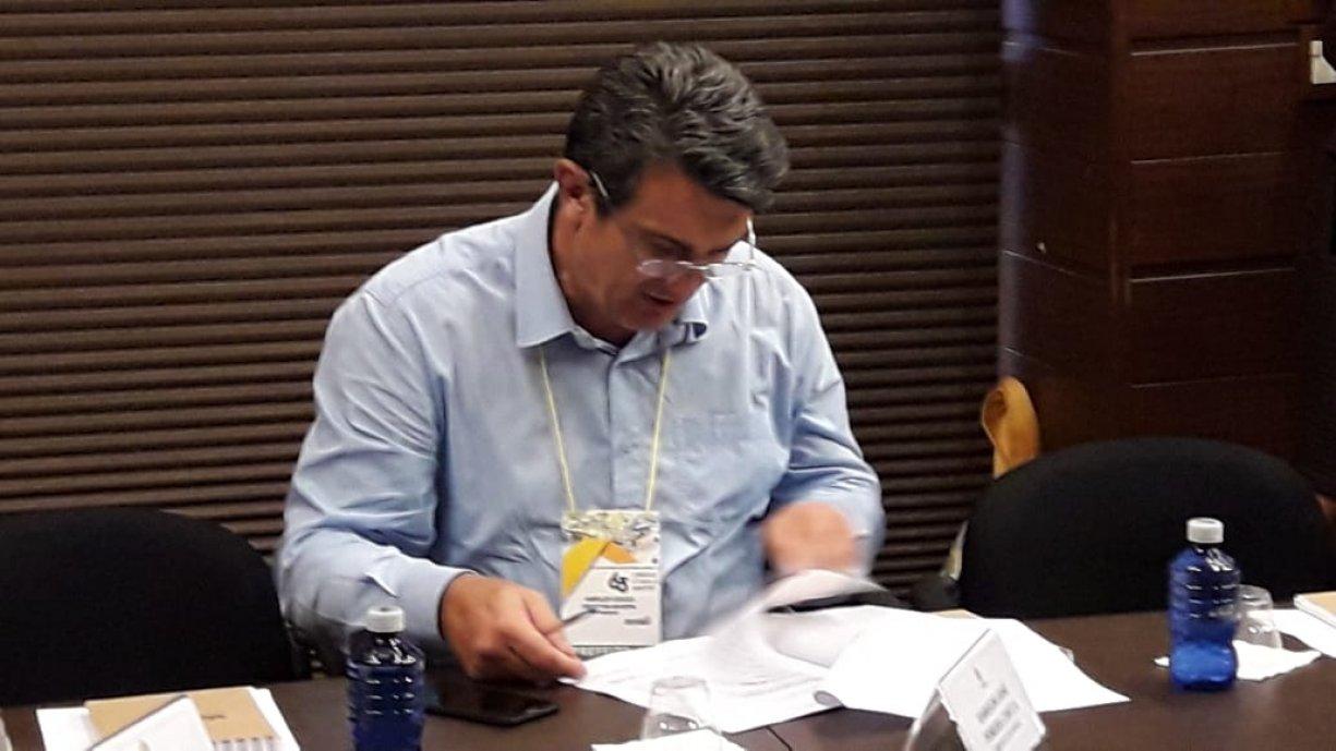 PREFEITO HAROLDO PARTICIPOU DO 63º CONGRESSO ESTADUAL DE MUNICÍPIOS, E NA OPORTUNIDADE ASSINOU CONVÊNIO PARA OBRAS DE RECAPE.