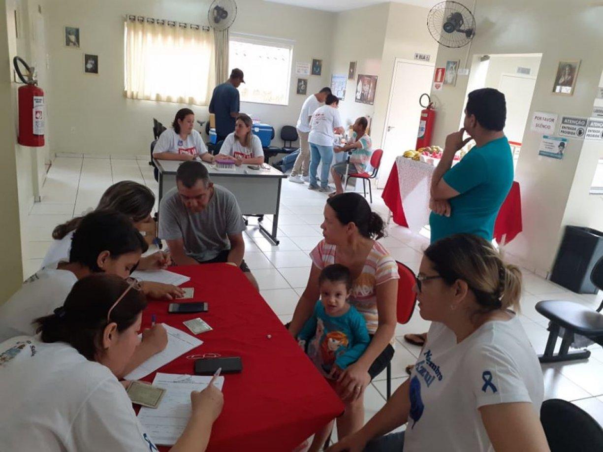 Campanha na Saúde de Irapuã cadastra doadores de medula óssea
